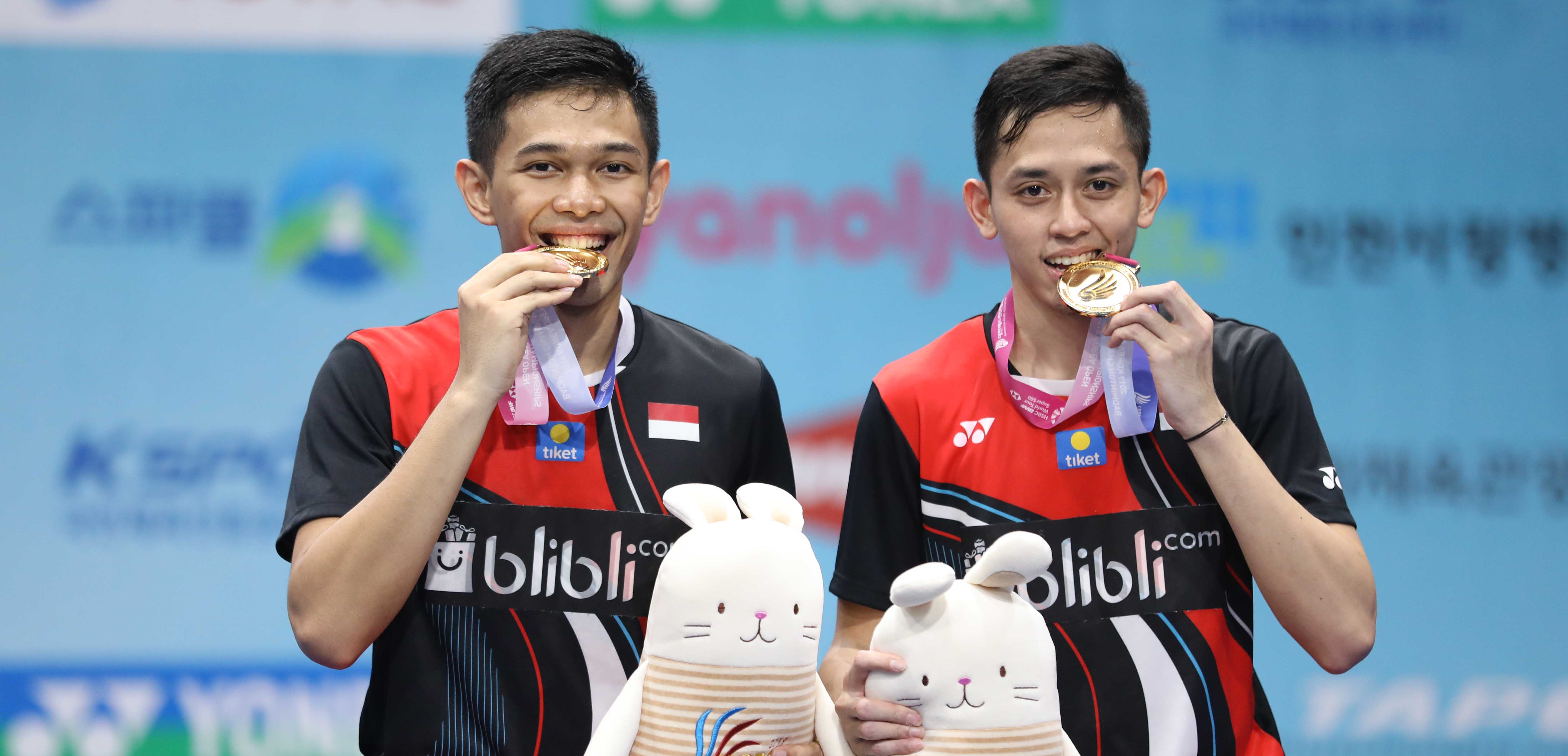 Indonesia Bawa Gelar Juara Korea Open 2019