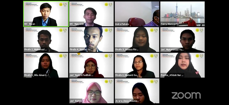 Press Release Grand Final Pemilihan Mahasiswa Berprestasi FE UNJ 2021